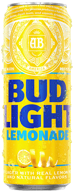 Can of Bud Light Lemonade Beer