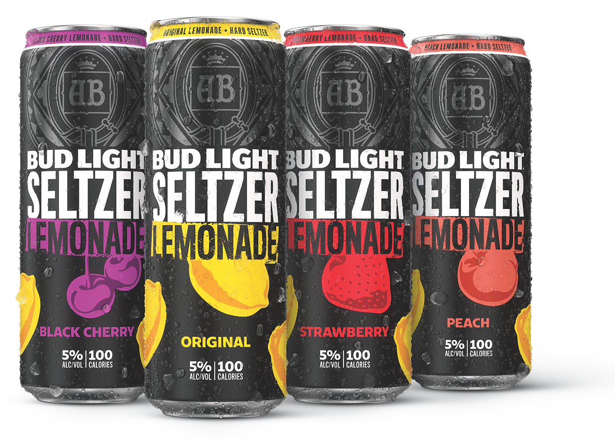 Can of Bud Light Lemonade Seltzer
